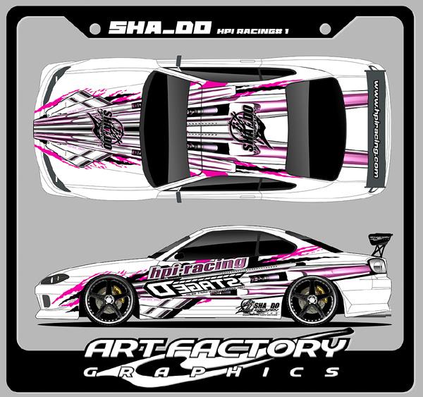 HPI Racing Deco \u003e\u003e\u003e Team TOYO DRIFT Deco